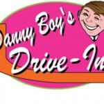 Danny Boy's Drive-In Movie Theater Logo